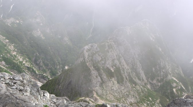 2014/08/02-04:剱岳(源次郎尾根経由)