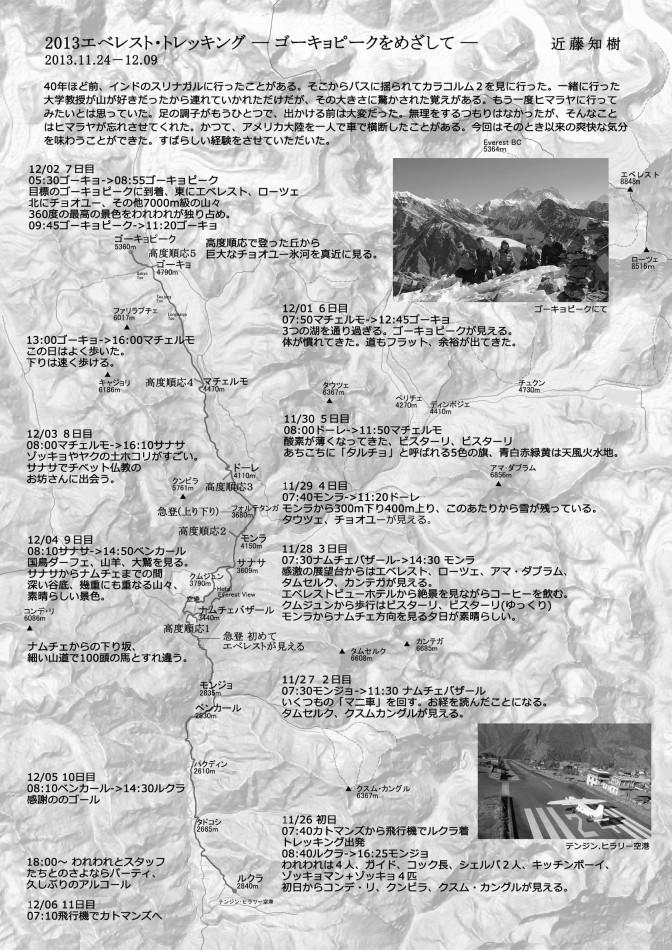 2013/11/24-12/09 エベレスト・リージョン・トレッキング(ルクラ~ゴーキョピーク)