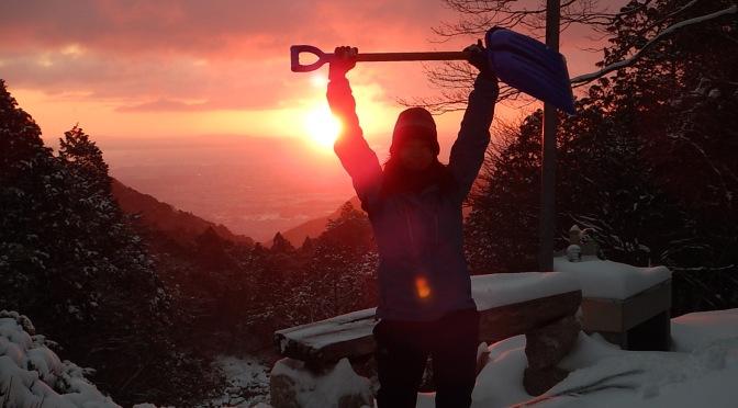 2015/01/17-18 御在所雪上訓練