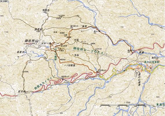 150429御在所後尾根地図