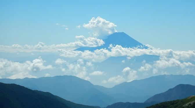 2015/08/05-06 塩見岳【20周年夏山合宿】