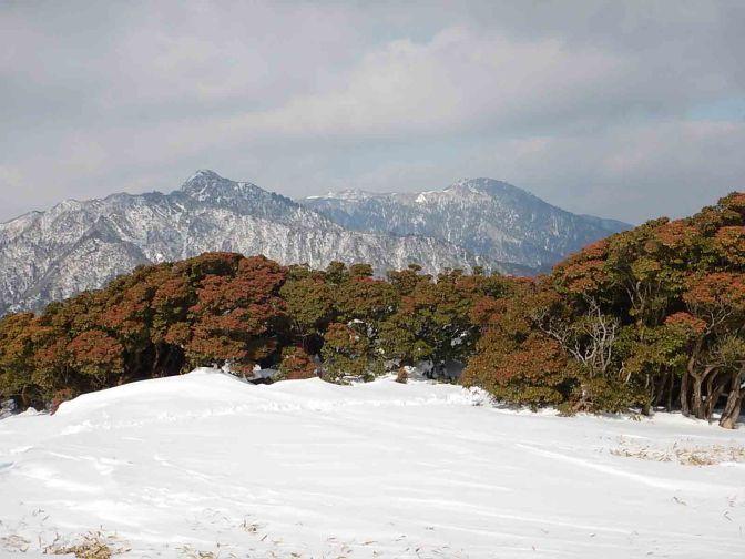 2016/01/27 入道ヶ岳
