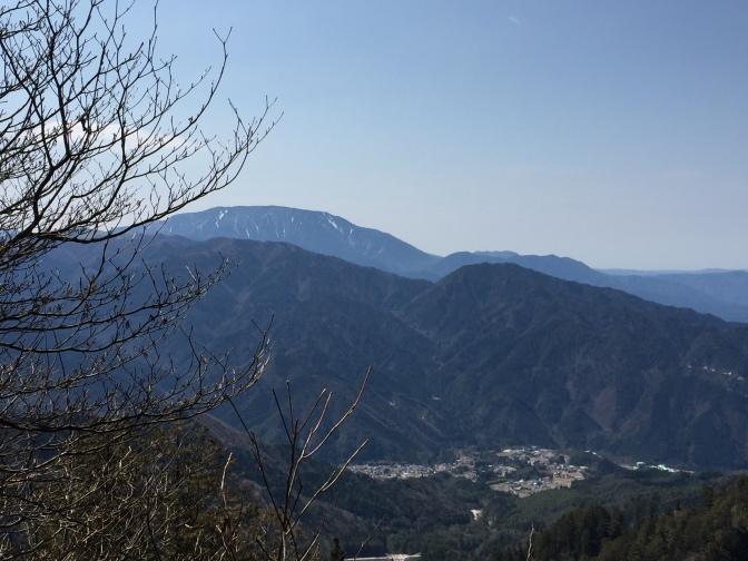 2016/3/27南木曽岳