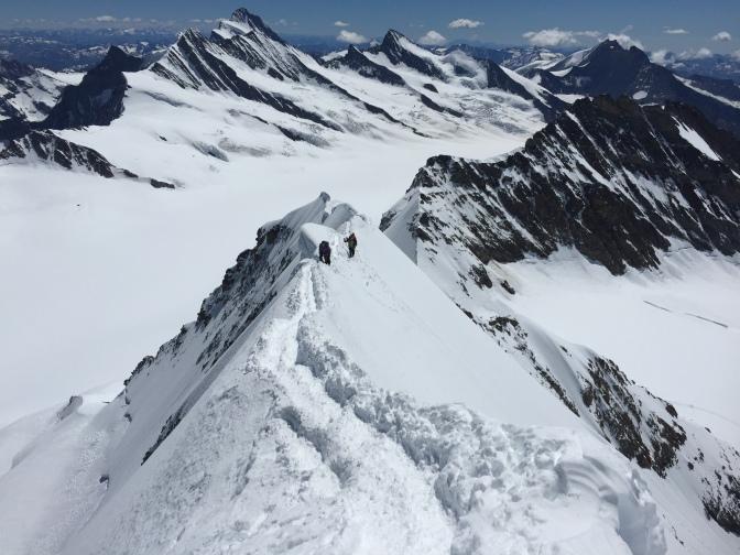 ヨーロッパ・アルプス登山旅行2016 (自主山行)