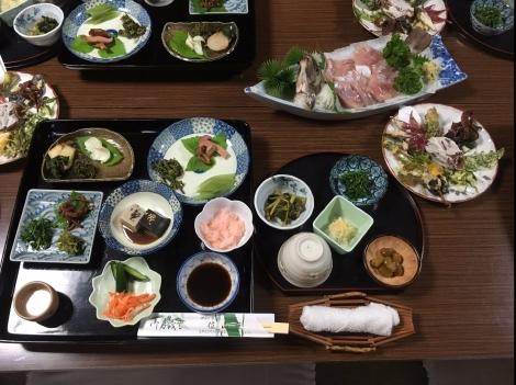 山菜の天ぷら・山菜尽くし