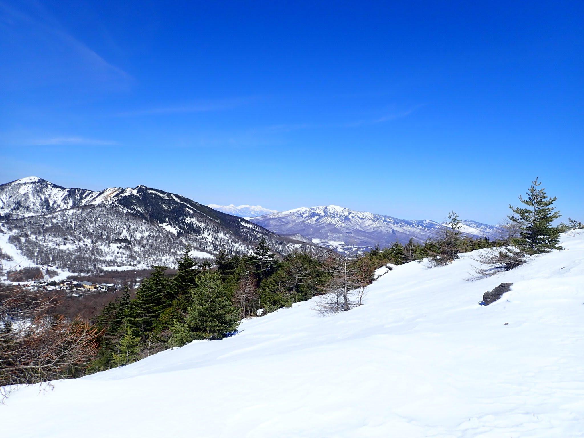 2018/03/03 黒斑山