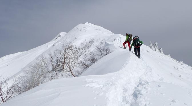 2018/03/24-25 北アルプス霞沢岳西尾根(自主山行)