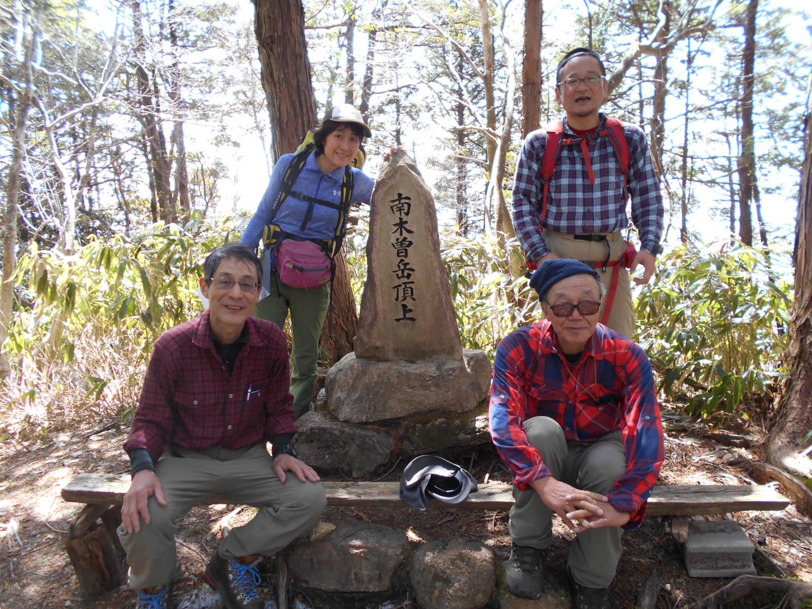 2018/03/31 南木曽岳