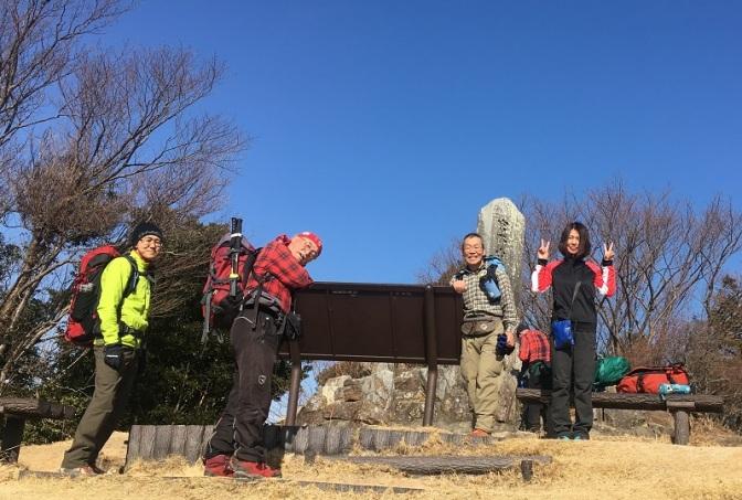 2019/01/25 宮路山・五井山・砥神山