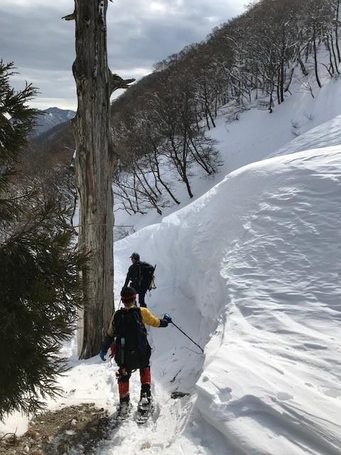 2019/02/02-03 杉峠鉱山跡泊まり山行