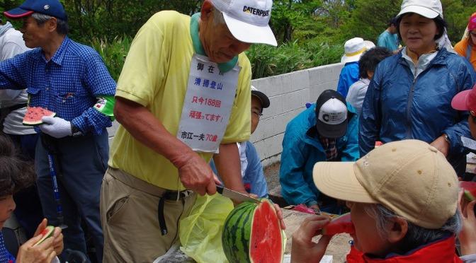 2009/06/07  第37回鈴鹿山系清掃登山