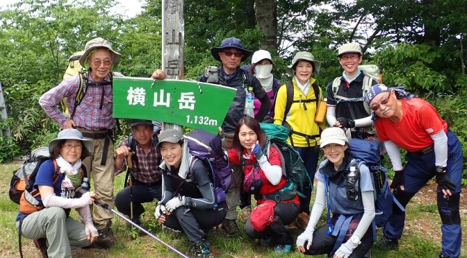 2019/6/18 横山岳