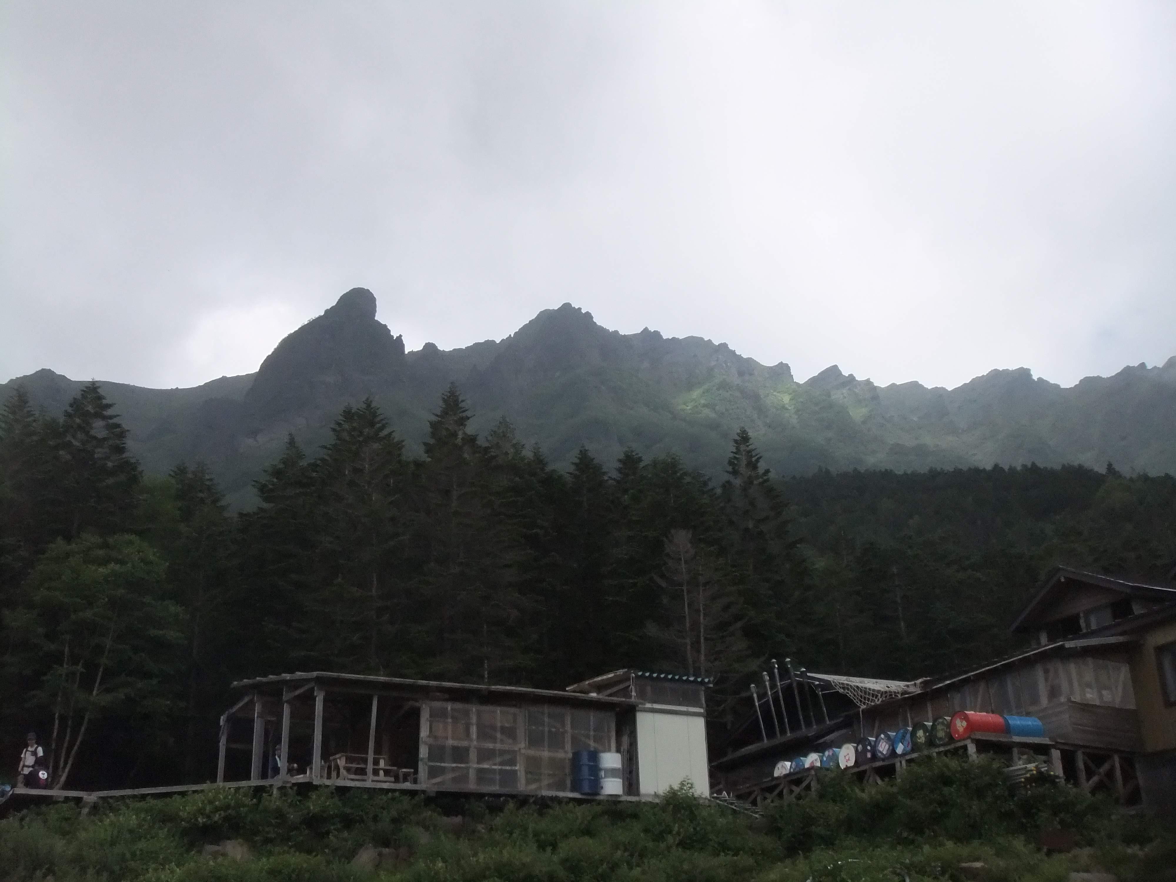 2019/8/4~6南八ヶ岳稜線漫歩