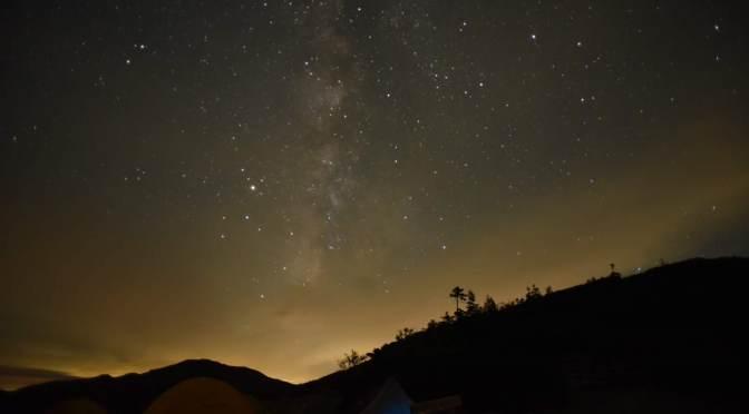 """2019/08/31-09/01 薬師岳 『北アルプスの""""満天の星""""を満喫』"""