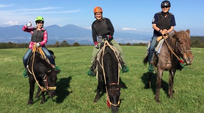 2019/10/5~6 乗馬体験と蓼科山
