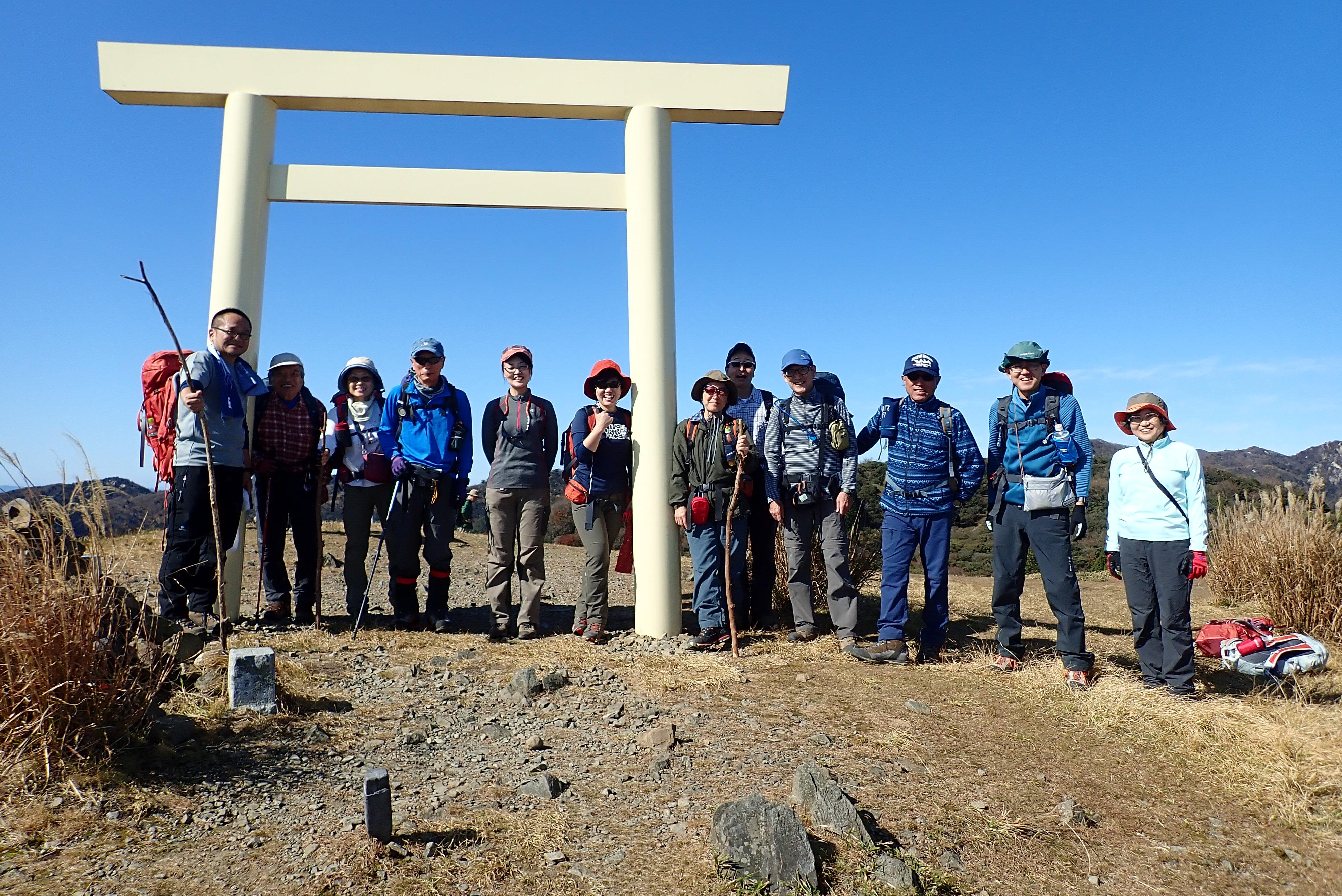 2019/11/9-10入道ヶ岳&剛ちゃんプロジェクト
