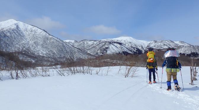 2020/02/28-29野伏ヶ岳『積雪期限定山行を満喫』
