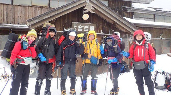 2020/02/22-23八ヶ岳(第51期氷雪技術講習会実技に参加しました)