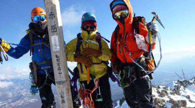 2020/02/08-09赤岳「雪山トレーニング」
