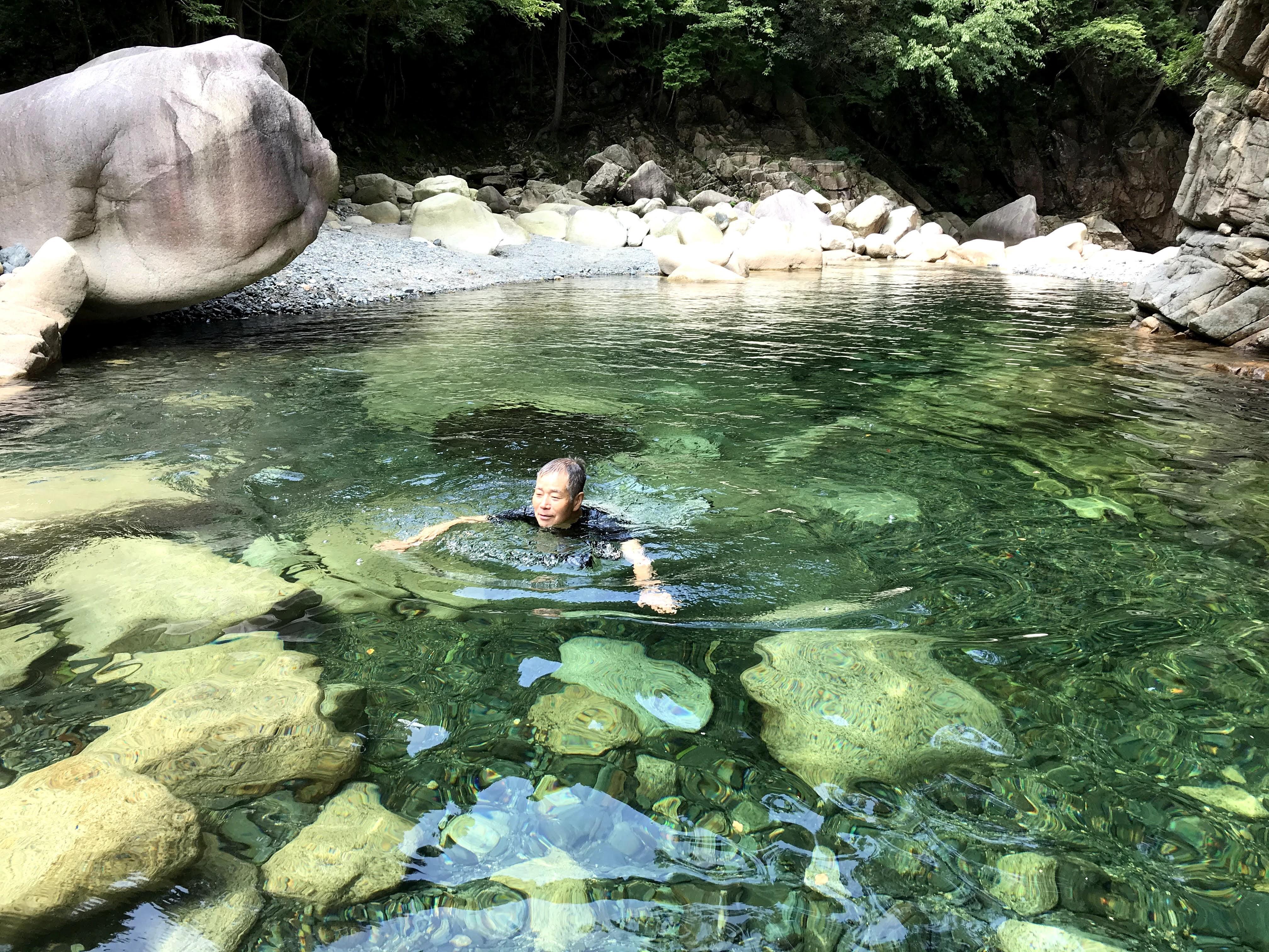 2020/8/22 愛知川で涼を楽しむ『ア・ホーマンス』