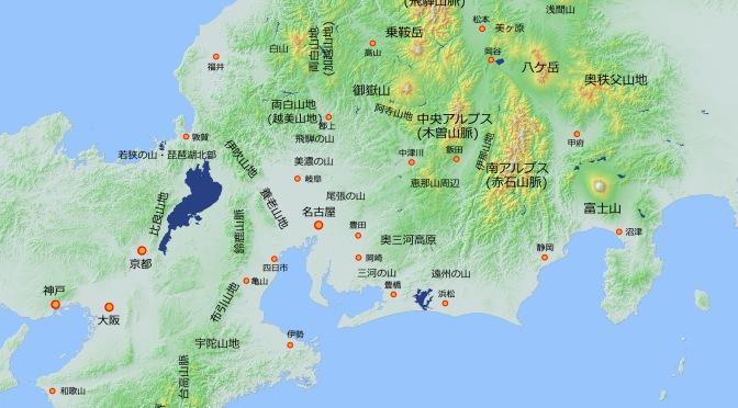 2020/10/19 山域地図と山域分類を更新しました。