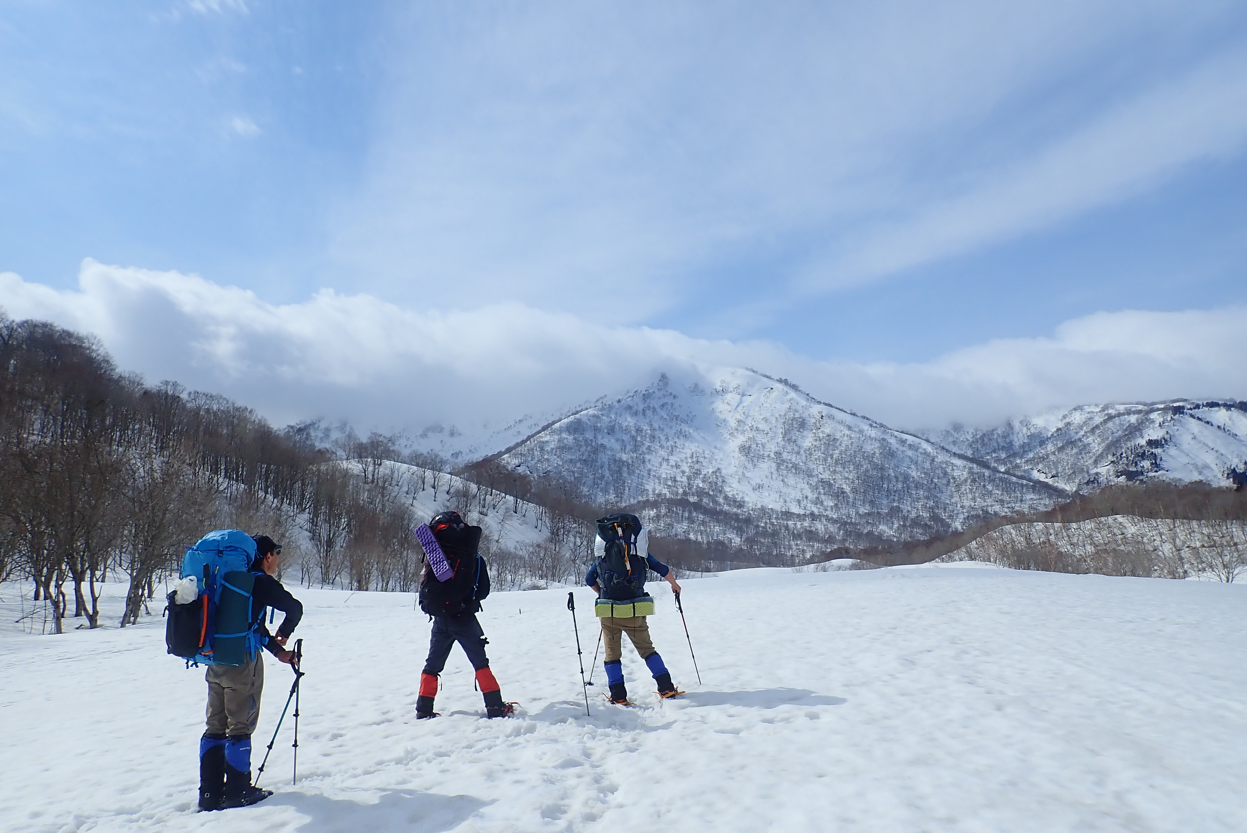 2021/03/06-07野伏ヶ岳『積雪期限定の聖地は360°の大パノラマ』