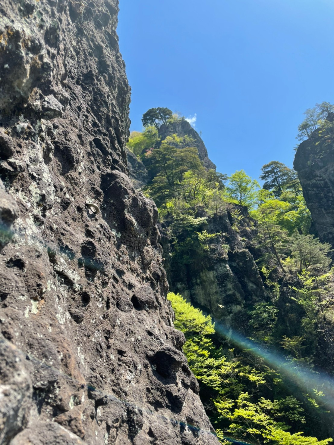 2021/5/2-3 妙義山クライミング『岩場に遊ばれる?』