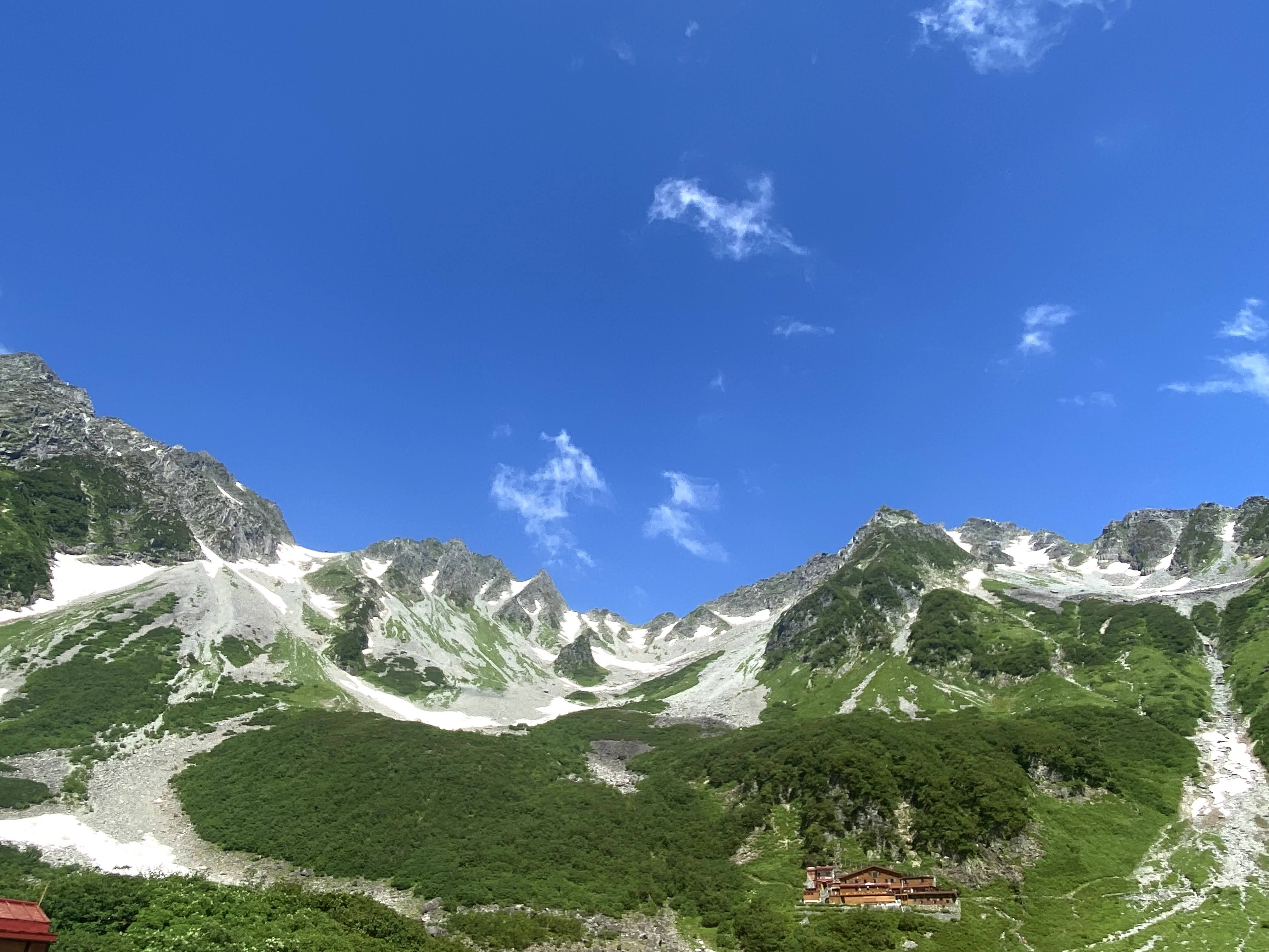 2021/07/25-27北穂高岳『一番高い山小屋から槍・穂高を見る』