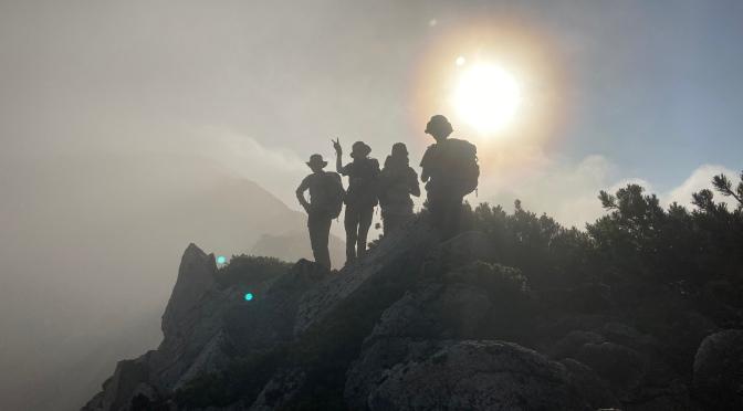 2021/07/22-25ブナ立尾根から水晶岳『裏銀座コース貸切ゆったりゆったり山行』
